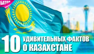 Факты о Казахстане