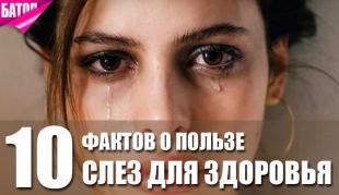 Почему слёзы полезны для здоровья - ТОП-10 причин