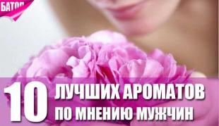 лучшие ароматы по мнению мужчин