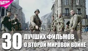 лучшие фильмы о второй мировой войне(2)