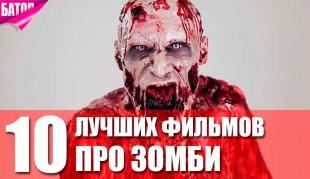 Самые лучшие фильмы про зомби на все времена