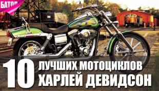 лучшие мотоциклы Харлей Девидсон