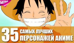 лучшие герои аниме всех времен