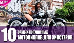 мотоциклы для хипстеров