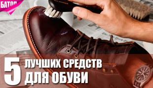 Лучшая косметика для обуви