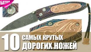 самые крутые дорогие ножи
