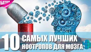 Сымые лучшие ноотропы для мозга