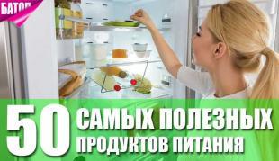 Самые полезные продукты в мире
