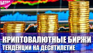 Тенденции криптовалютных бирж
