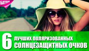 лучшие поляризованные солнцезащитные очки