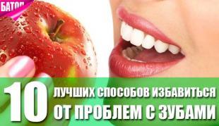 лучшие способы избавиться от проблем с зубами