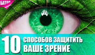 лучшие способы защитить зрение