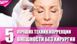 лучшие техники коррекции внешности без хирургии