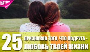 признаки того, что твоя лучшая подруга – любовь всей твоей жизни