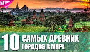 10 самых древних городов мира