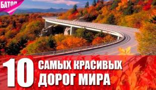 самые красивые дороги