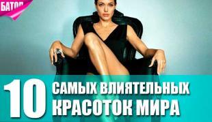 самые сексуальные и влиятельные женщины в мире