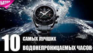 лучшие водонепроницаемые часы