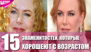 знаменитости, которые хорошеют с возрастом