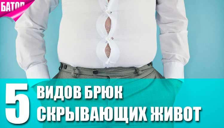 виды брюк скрывающих живот
